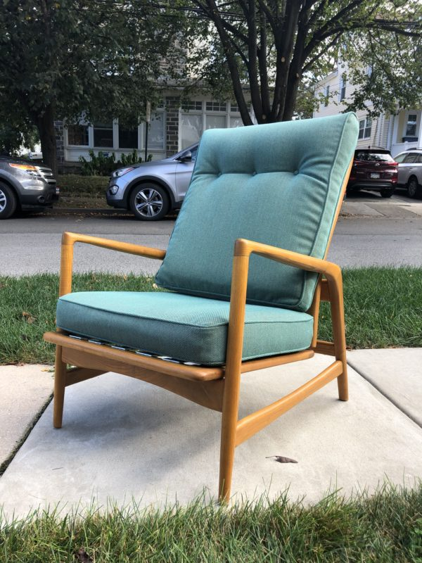 Mid-century Modern Lounge Chair by Shield Chair Company of California